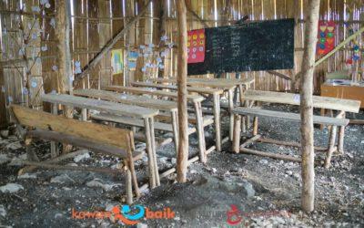 Sekolah sebelum kehancurannya