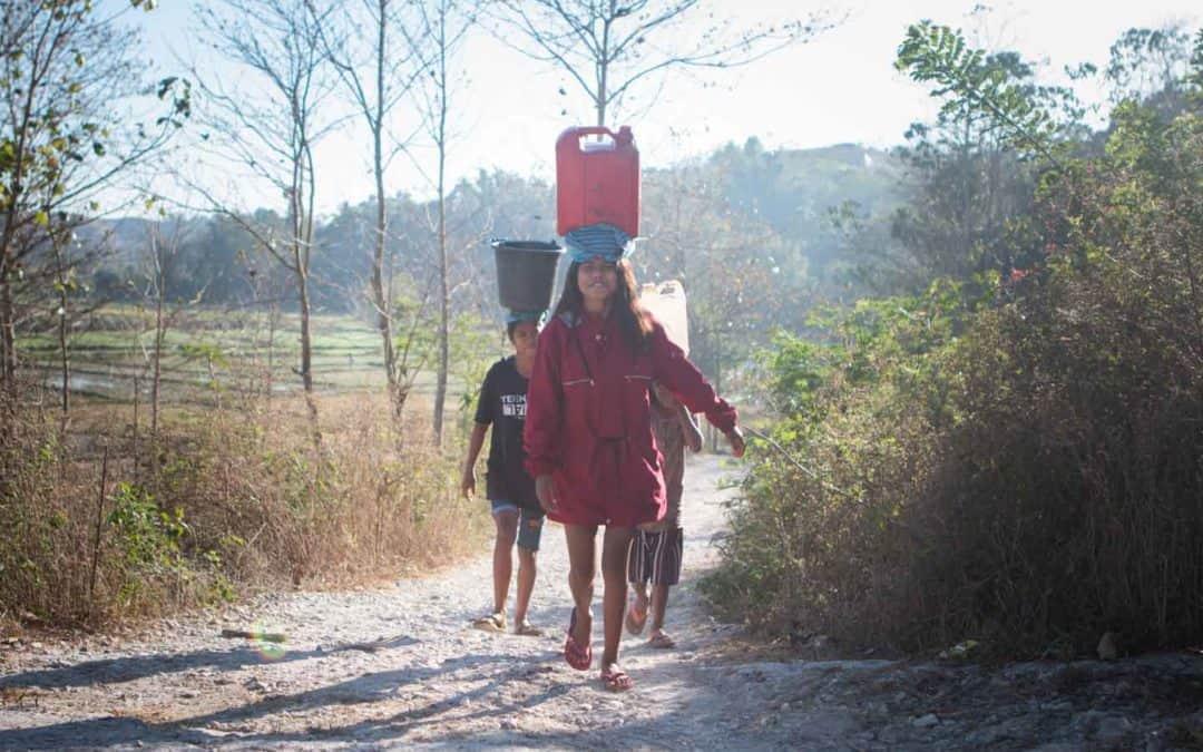 Good Morning from Mbinudita Water Source, Sumba
