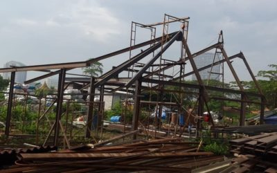 Mbinu Dita School Steel Frame Has Been Established