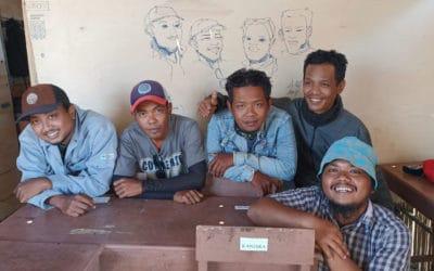 Dari Surabaya ke Sumba, #BangunMbinuDita sekolah