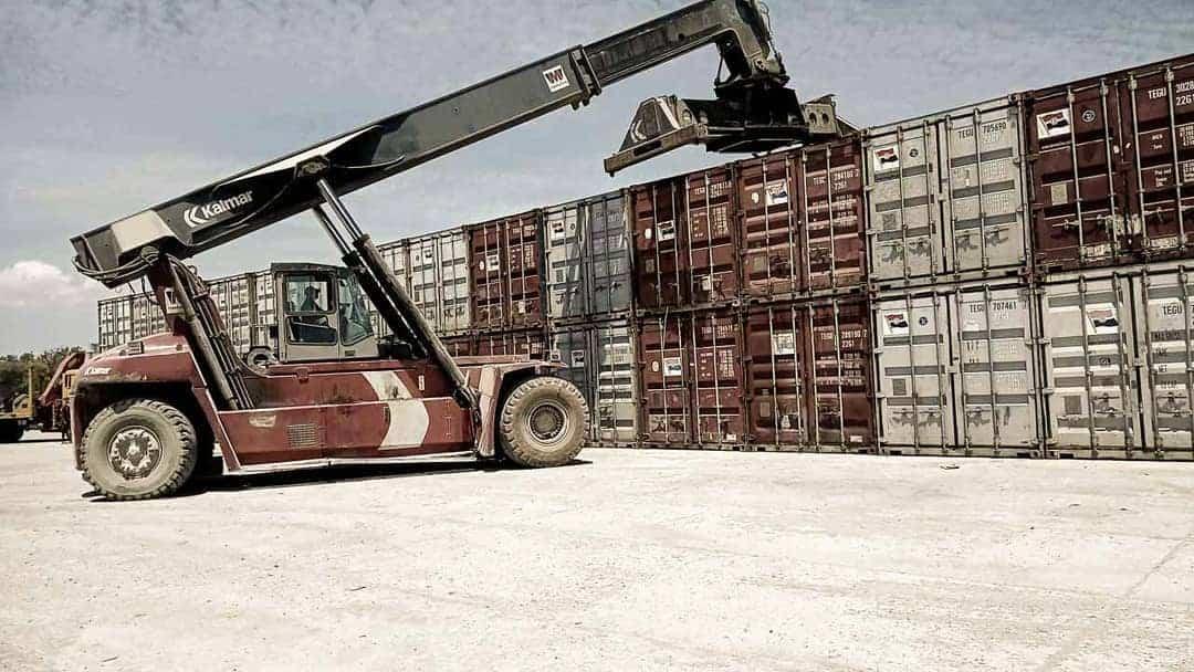 Almost 90% of Mbinudita school construction materials are shipped from Bali and Surabaya