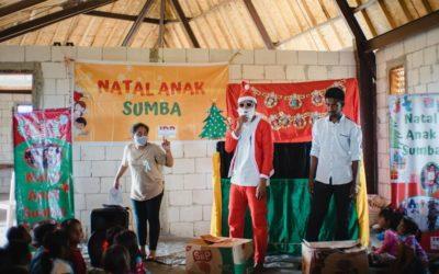 SD Mbinudita merayakan Hari Natal